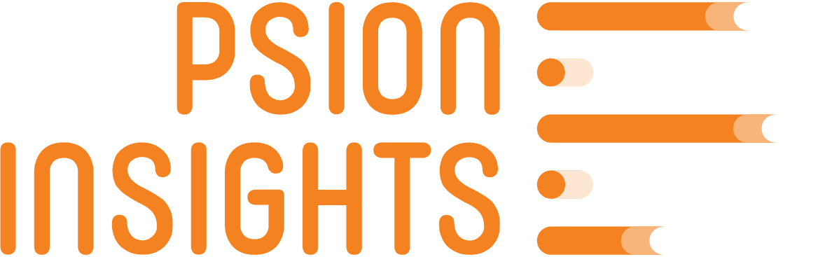 Psion Insights Orange Logo